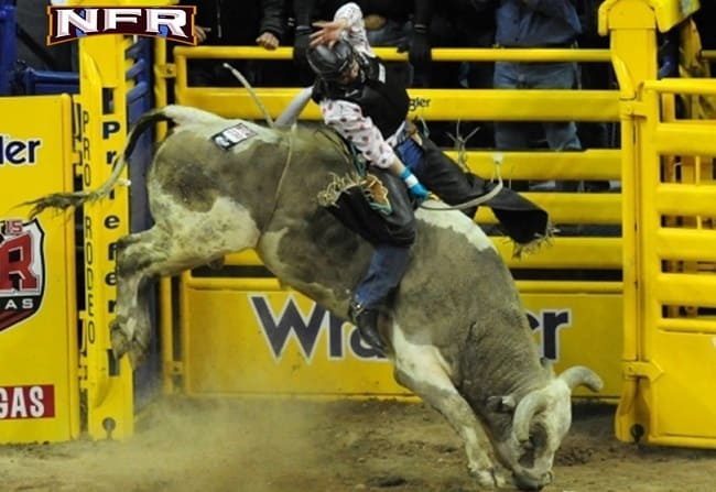 NFR Bull Riding